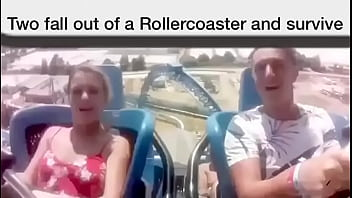 Scary rollercoaster fallout