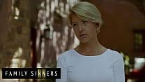 Hot Blonde Milf (Kit Mercer) Blows Fucks Her Step Son Van Wylde - Family Sinners