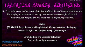 Lactating Cowgirl Girlfriend | Erotic Audio Play by Oolay-Tiger