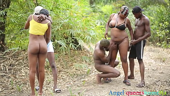 Some where in Africa outdoor party scene 1
