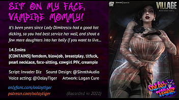 Lady Dimitrescu - Sit on my face, Vampire Mommy! (18 EroAudio)