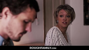 Mom Comforts her Son - RoughFamily.com 8 min