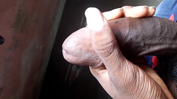 Hardcore hand job with my dick