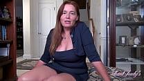 AuntJudys - 48yr-old Texas Amateur Redhead Natasha SUCKS YOUR COCK (VPOV) 19 min