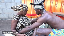 Ebony girl visits an orgasm doctor