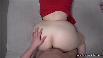 Big ass BBW gets fucked and facial - POV