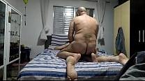 Maduro Tarado alargando a rosca do seu parceiro submisso