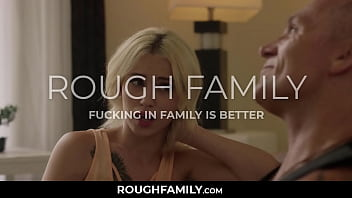 Dad Came to Visit His New Step Daughter! But Fucked Instead - RoughFamily.com