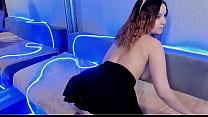 Innocent BongaCams girl penetrates her tight pussy