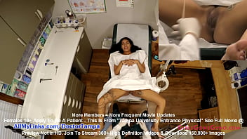 Maya Farrell's Freshman Gyno Exam By Doctor Tampa & Nurse Lilly Lyle Caught On Hidden Camers Only @ GirlsGoneGynoCom