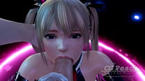 D or Alive: Deep Blowjob by cute Marie Rose