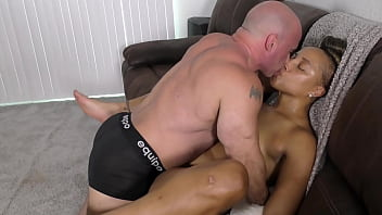 Nude Amazon Kendra Allure' Thick Booty Beauty' grinding (interracial) 10 min