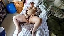 Beautiful Chubby Mom Caught Playing with Her Hairy Pussy Real Orgasm