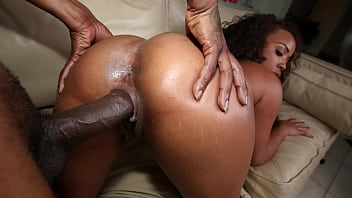 BANGBROS - Charlie Mac Gets All Up In Stacy Lane's Amazing Black Big Ass!