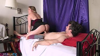 Stepsister teaches sex
