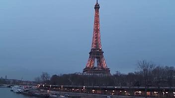 AMATEUR EURO - #Sisley Haim - Sexy Ass French MILF Takes DP Outdoor