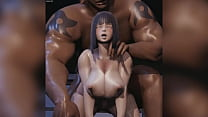 HINATA GETS BLACKED AGAIN ! / MORE ON http://motriael.com/71lV