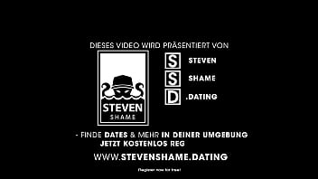 CURVY MERMAID LADY fucked IN PUBLIC TOILET: SWISS LADY get BIG COCK! StevenShame.dating