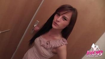 Sexy girl cheats on boyfriend and fucks for creampie 12 min