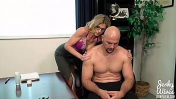 Massaging my Step Brother - Cory Chase