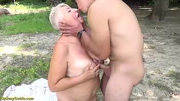 stepson fucks bbw mom on public beach
