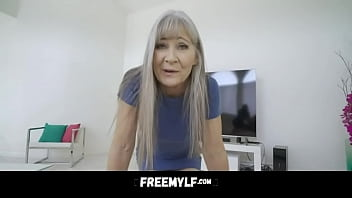 Hot Granny Wants A Stud Dick Up Her Pussy - Leilani Lei
