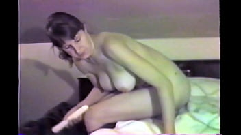Vintage Hotwife Fara gets to show off for the camera while her boss films, cucky gets a copy to watch.