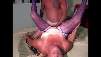 Getting my hairy cunt filled with a handful of cock 2 min