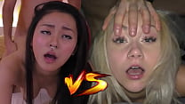 Japanese Fucktoy VS Czech Cum Dumpster - Who would you like to creampie? - Featuring: Rae Lil Black & Marilyn Sugar 23 min