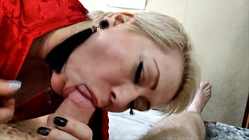 Come on, suck my dick, my kinky Queen! Only hot blowjob of mature russian mommy! POV! 33 min