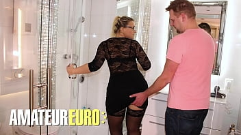 REIFE SWINGER - Mariella Sun - SEXY BBW BABE HOOK UP WITH A NEW GUY THAT SHE MET ON FACEBOOK