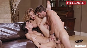 SCAM ANGELS - (Richelle Ryan, Aidra Fox, Lucas Frost) - American Football Player Hardcore Threesome Sex With Two Horny Bitches
