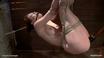 Hung for limbs ginger dyke toyed