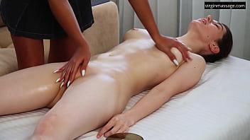 Very exciting virgin massage orgasm by Nina Lizalaks