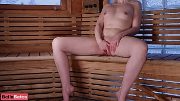 Waiting Daddy To Sauna With Me Love Bella Bates