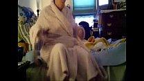 Caught my busty mom fully nude in bedroom. Hidden cam
