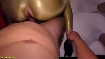 austrian shiny stepsiblings catsuit party orgy
