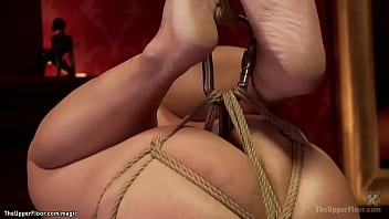 Tied babe served on the dinning table