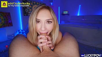 Cute Cock Lover Chloe Temple Cums Hard