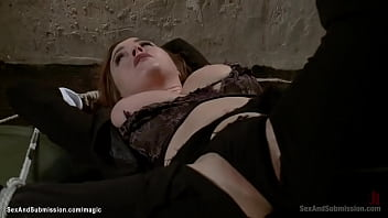 Bound big tits agent anal fucked