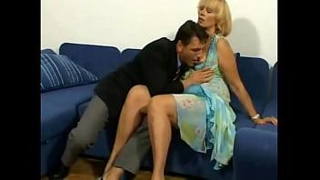 Lusty Blonde Horny Irina 17 min