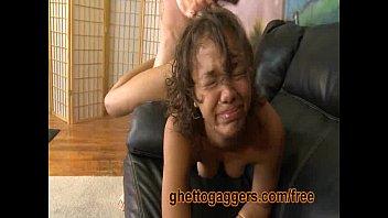 Jessica James In A Rough Interracial Gangbang