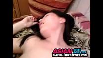 Wild Asian Kazakh Chick With Her Asian Boyfriend