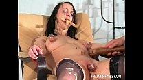Bizarre female humiliation and messy degradation of food enslaved filthy slut