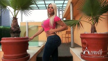 Blonde Tranny With Huge Tits Uses Cock Pump