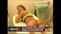 Jesica Cirio entrenando - Impacto9
