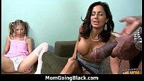 Monster black cock bangs my moms white pussy 24