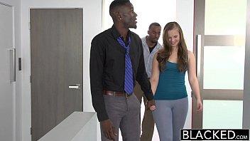 BLACKED Minnesota Teen Tries First Interracial Threesome 10 min