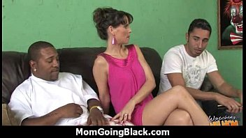 Huge Black Meat Going into Horny Mom 18