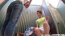 Two Girls in Public Pool Shower
